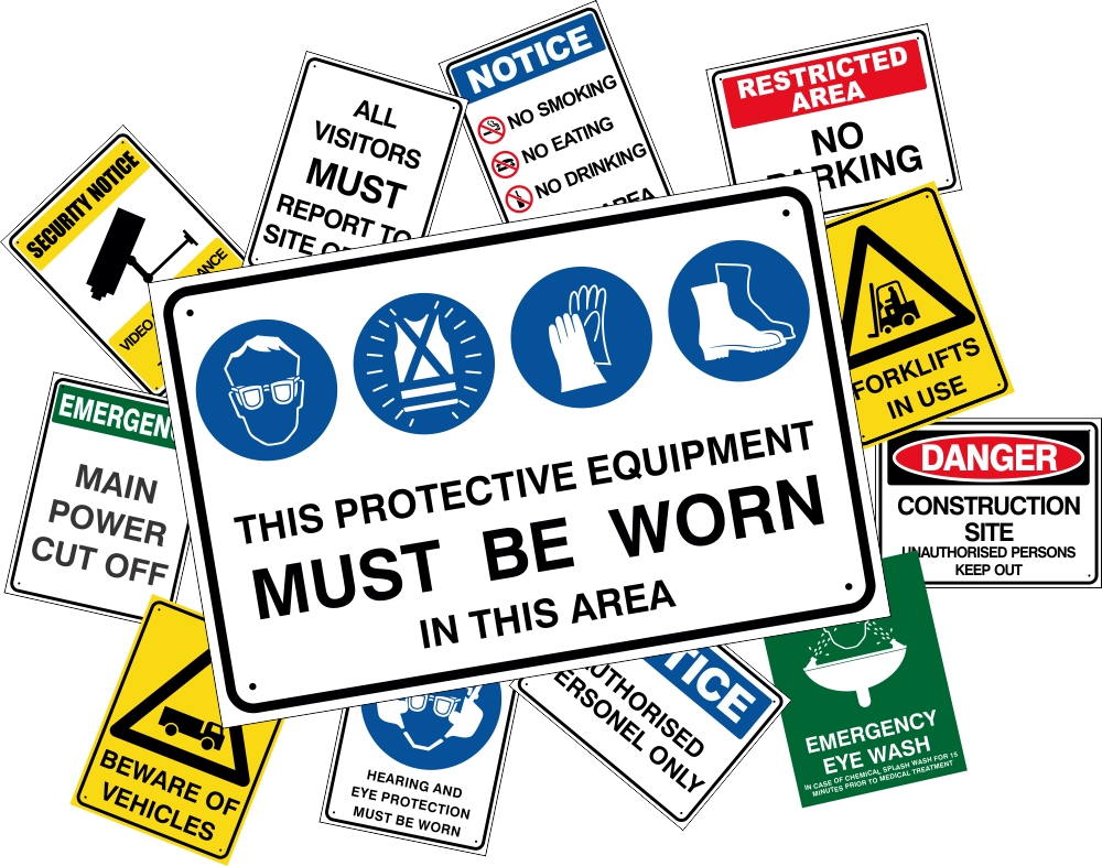 Security Safety Signs Safety Signs