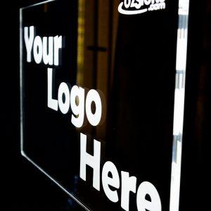 led hanging sign