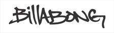 Billabong logo sticker