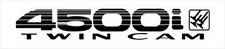 Toyota Landcruiser 80 Series Twin Cam 4500i x2 (rear 1/4) sticker