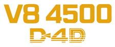 Toyota Landcruiser Ute V8 4500 D4D x2 (sides) sticker
