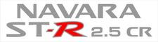 "Nissan ""Navara ST-R 2.5 CR"" x2 (doors) sticker"
