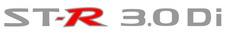 "Nissan Navara ""ST-R 3.0 CR"" x1 (tailgate) sticker"