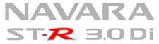 """issan Navara """"ST-R 3.0 Di"""" x2 (doors) sticker"""