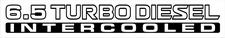 Nissan Patrol GU 6.5 Turbo Diesel Intercooled x2 (doors) sticker