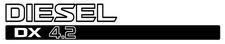 Nissan Patrol GU Diesel DX 4.2 x2 (doors) sticker
