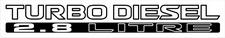 ssan Patrol GU Turbo Diesel 2.8 Litre x2 (doors) sticker