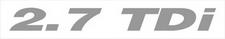 Nissan Terrano 2.7 TDi sticker