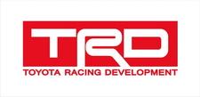 Toyota Racing Development TRD logo sticker