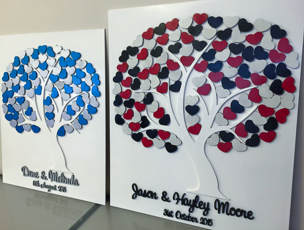 mdf tree guestbook